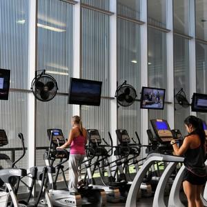Gym Digital Signage - CCS Colorado