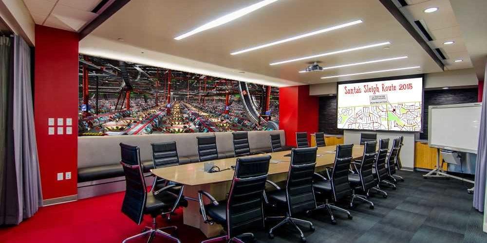 Ccs Recently Completes Santa S Executive Conference Room