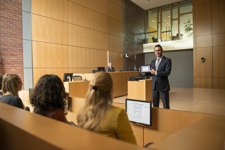Dickinson Law Courtroom - CCS Colorado